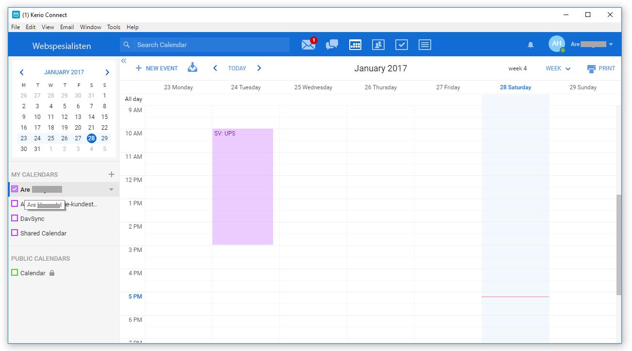 kerio-kalender